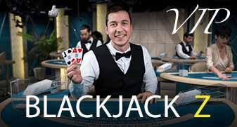 Blackjack dealer in het live casino