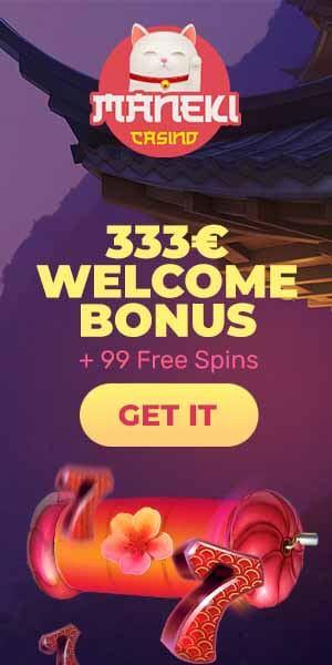 99 Free Spins bij Maneki