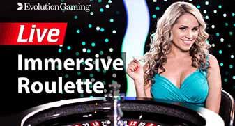 Immersive roulette in het live casino