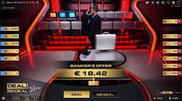 Deal of No Deal bod van de bank