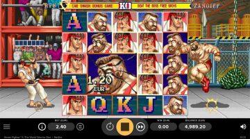 Street Fighter 2 videoslot