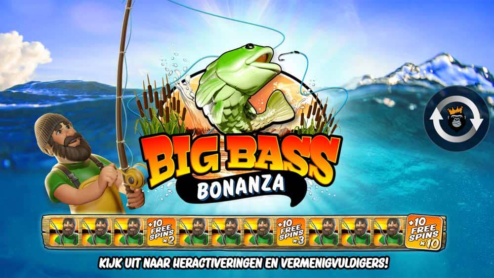 Big Bass Bonanza gokkast