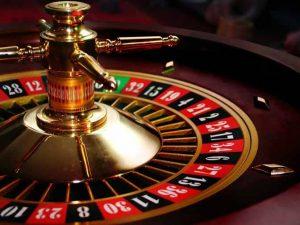 Roulettewiel van een casino