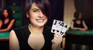 Blackjack dealer live casino