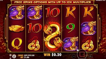 8 Dragons gokkast